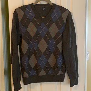 Gap kids argyle sweater